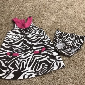 Carter's 18 mo. Dress with diaper cover